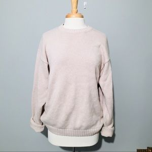 Oversized Sweater Beige Color Size L